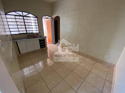 Casa Com 2 Dormitórios Para Alugar, 115 M² Por R$ 800,00/mês - Parque Ribeirão Preto - Ribeirão Preto/sp - Ca1668