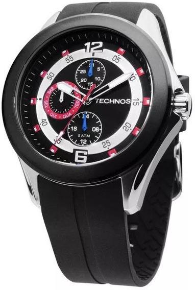 Relógio Technos Racer 6p27df/8r Novo Original Com Nfe