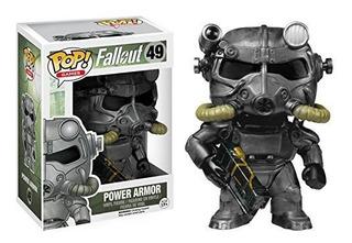 Funko Pop Power Armor Fallout #49 Vídeo Juegos