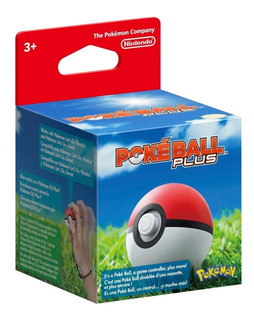 Pokeball Plus Nintendo Switch Nueva Y Sellada