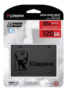 Disco Solido 120gb Kingston A400 Ssd 550mbps 2.5 Notebook Pc