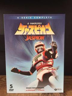 Jaspion A Série Completa Box Com 5 Dvds (produto Original)