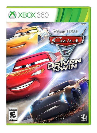 Cars 3 Driven To Win - Xbox 360 - Novo - Mídia Física