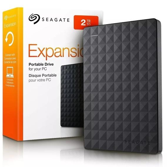 Hd Externo Portátil Seagate 2tb Usb 3.0 Pc Xbox One Ps4 Original Lacrado