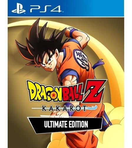 Dragon Ballz:kakarot-edição Definitiva Ps4 Psn Envio Digit
