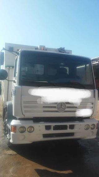 Mercedes Benz 1718 Compactador De Residuos Carga Trasera