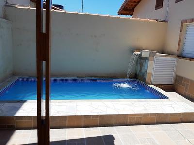 Casa Nova Com Piscina Lado Praia No Centro Do Suarão