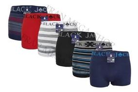 4 Cueca Box, Black Jack, Por Preço De Fabrica