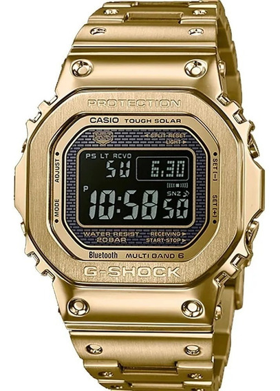 Relógio G-shock Gmw-b5000gd-9dr Tough Solar E Bluetooth +nfe