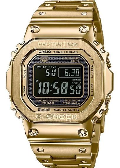 Relógio G-shock Gmw-b5000gd-9dr Tough Solar E Com Caixa