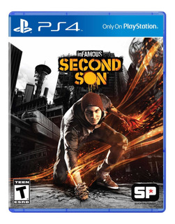 Infamous Second Son Ps4 ( Sellado ) Envios A Todo Chile