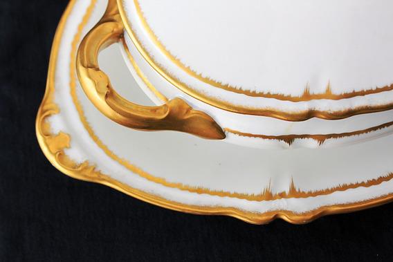Juego De Vajilla Porcelana Limoges B&c France 25 Piezas