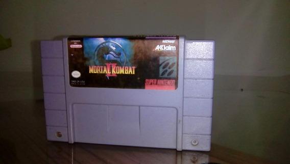 Mortal Kombat 2 Original Super Nintendo, Snes