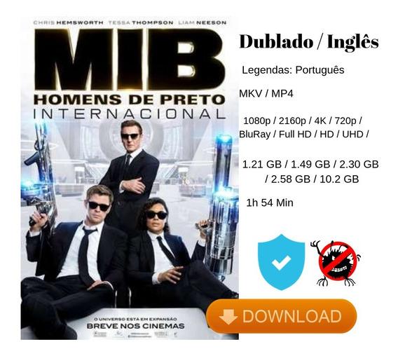 Mib - Homens De Preto - Internacional