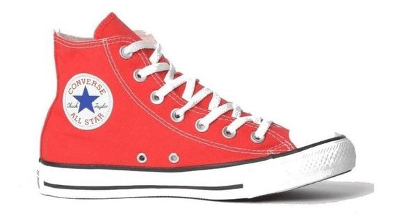 Tênis Converse All Star Vermelho Cano Alto Ct00040004