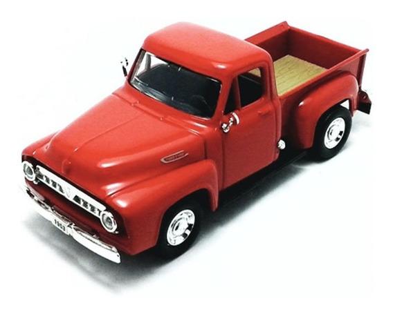 Ford F100 Pickup 1953 1:43 Yatming Vermelho