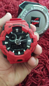 Relógio Casio Ga - 700 Vermelho