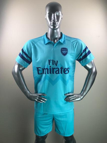 Uniforme Arsenal Visita Personalizada Playera Jersey