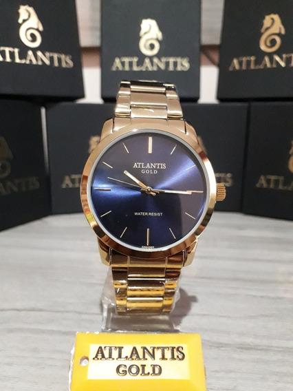 Relogio Atlantis Sports Modelo A3071 Original Na Caixa
