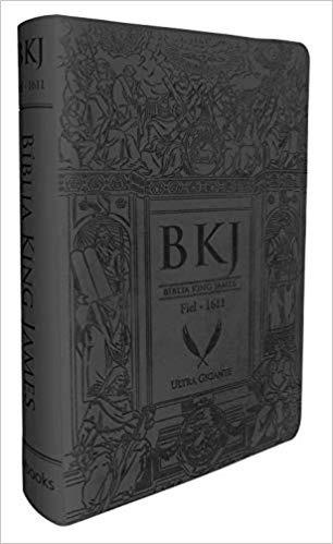 Bíblia King James - Ultra Gigante - Preta (português)