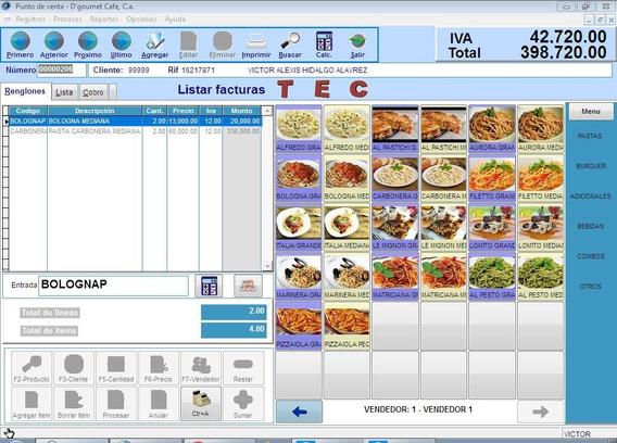 Sistema Para Restaurantes, Bodegone, Etc...