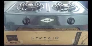Cocina Eléctrica Marca Haceb 2 Hornillas