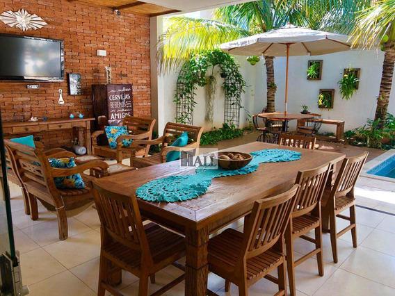Casa De Condomínio Com 3 Dorms, Village Damha Mirassol Ii, Mirassol - R$ 658 Mil, Cod: 6919 - V6919