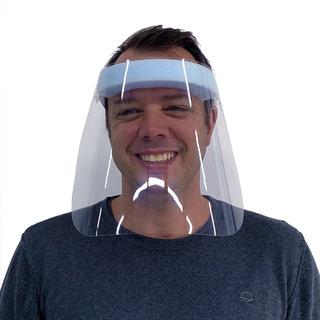Mascara De Proteçao Face Shield Pacote Com 10 Unidades