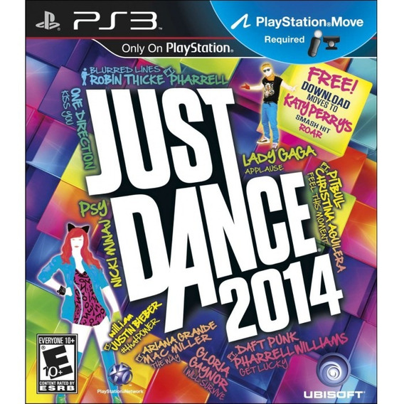 Just Dance 2014 - Ps3 Novo, Mídia Física, Lacrado