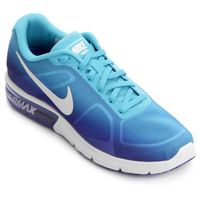 Tênis Nike Air Max Sequent Azul Original