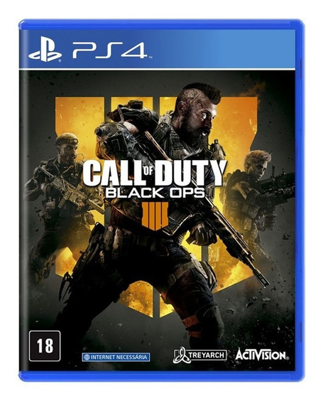 Call Of Duty Black Ops 4 Ps4 Mídia Física Novo Lacrado