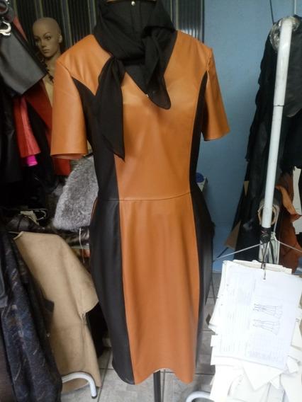 Vestido De Couro Legitimo