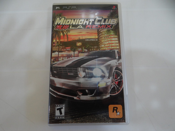 Midnight Club La Remix - Psp - Completo!
