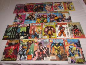 Wolverine Formatinho Ed. Abril Lote 22 Volumes - Anos 90