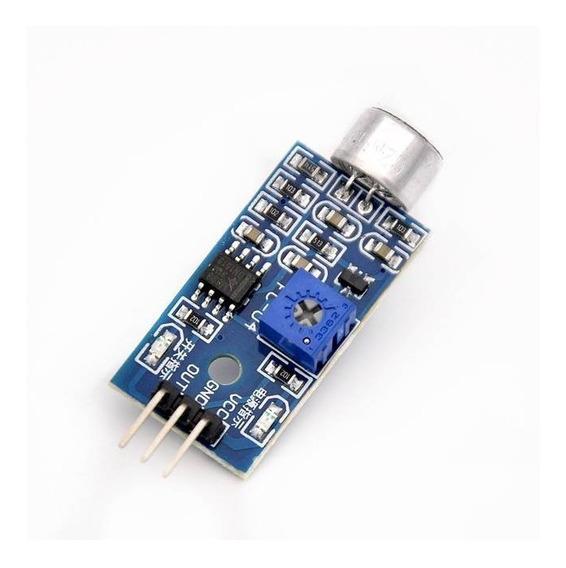 Sensor De Som Lm393 Arduino.