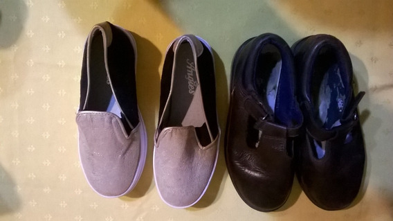 Zapato Guillermina Colegial Nº 29 + Panchas