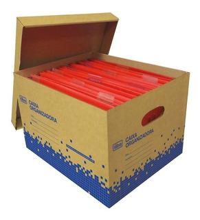 Caixa Organizadora Papelao Kraft Multi Uso Grande Tilibra
