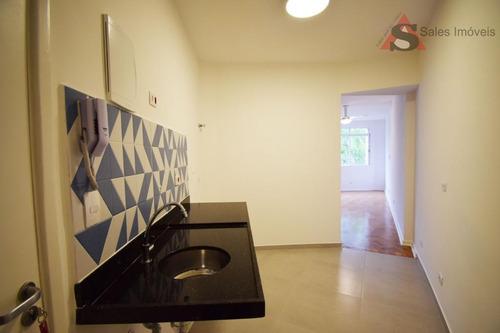 Studio Com 1 Dormitório À Venda, 29 M² Por R$ 370.000,00 - Vila Buarque - São Paulo/sp - St0048