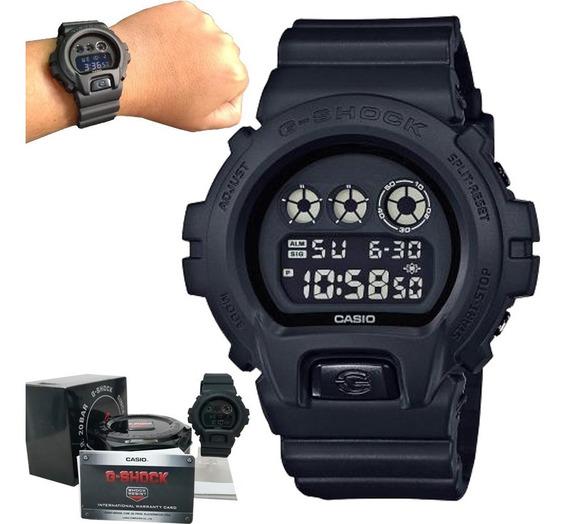 Relógio Casio G-shock Dw-6900bb-1dr Original C/ Nota