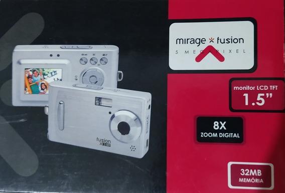 Câmera Digital Mirage Fusion 5mp