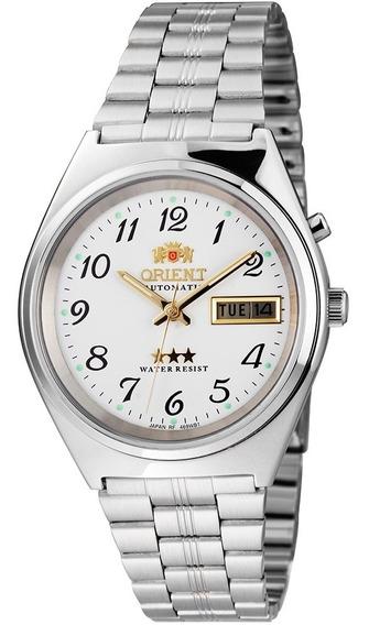 Relógio Orient Automático 469wb1ab2sx 3 Estrelas Branco