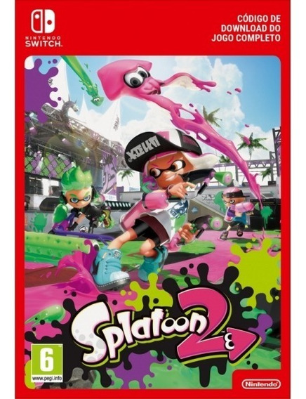 Splatoon 2 Digital Nintendo Switch Eshop Oficial - Codigo
