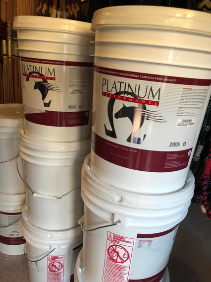 Suplemento Alimenticio Equino Platinum Performance 25 Lbs
