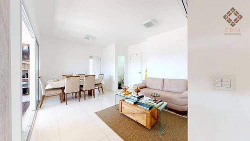 Apartamento Para Compra Com 2 Quartos E 2 Vagas Localizado Na Vila Romana - Ap53483