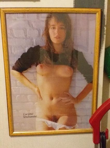 Playboy Luciana Vendramini Poster