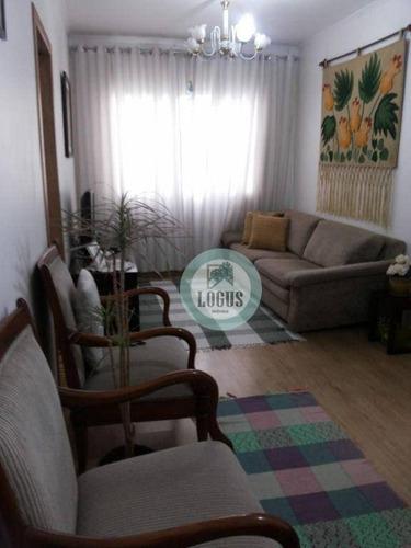 Imagem 1 de 8 de Apartamento Com 2 Dormitórios À Venda, 55 M² Por R$ 215.000,00 - Jardim Irajá - São Bernardo Do Campo/sp - Ap1787