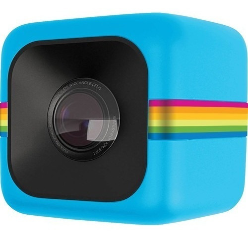 Câmera De Ação Polaroid Cube Full Hd Azul Act Two Temosloja