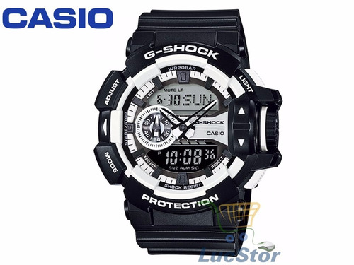 Relógio Casio Ga-400-1adr G-shock Garantia 1 Ano