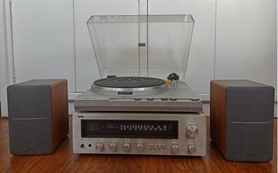 Polyvox Td3900 /pr1500 Edifier P12Tocadisco Receiver Caixas
