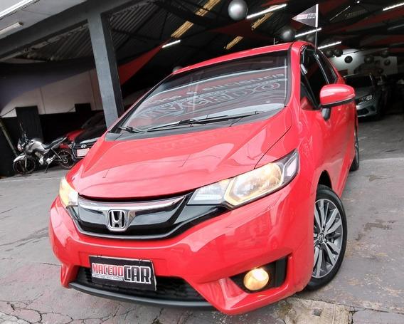 Honda Fit 1.5 Ex Aut. 2016 Vermelho